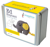 Ed Elephant  Sewing Kit - product image of sewing kit in a presentation tin.