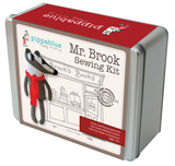 Mr. Brook the badger- Sewing Kit in a tin