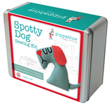 Spotty Dog Sewing Kit -Toy making kit in a tin
