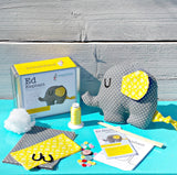 Ed Elephant - Toy sewing Kit suitable for children ages 8 and up