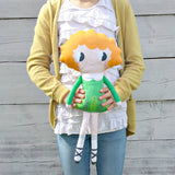 Emer the Irish dancer Sewing Kit - finished doll