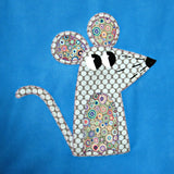 Personalised Baby Blanket - Mouse -  - 2