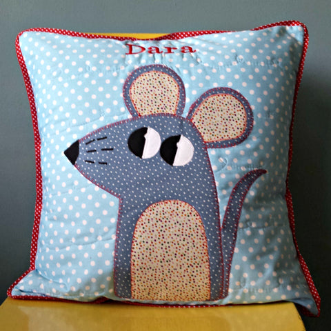 Personalised Cushion - Mouse -
