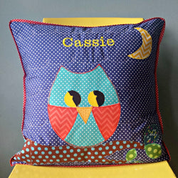 Personalised Cushion - Night Owl -  - 1