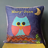 Personalised Cushion - Night Owl -  - 2