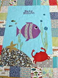 Personalised Cotton Quilt - Under the Sea -  - 2