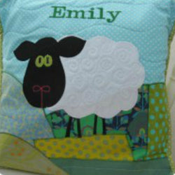 Personalised Cushion - Sheep -