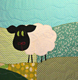 Personalised Cotton Quilt - Sheep -  - 1