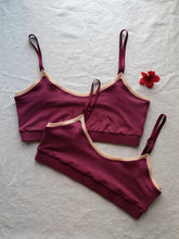 Load image into Gallery viewer, Bralette in Merlot
