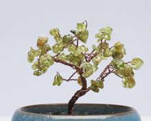 Load image into Gallery viewer, Mini Peridot Tree of Life Sculpture