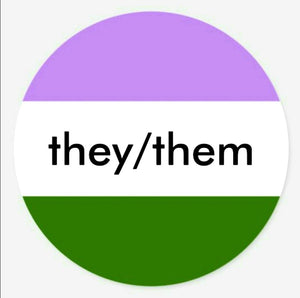 They/Them Stickers