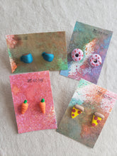 Load image into Gallery viewer, Polymer Clay Earrings - Food Series