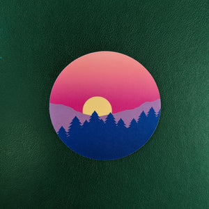 Bi Pride Sunset Sticker