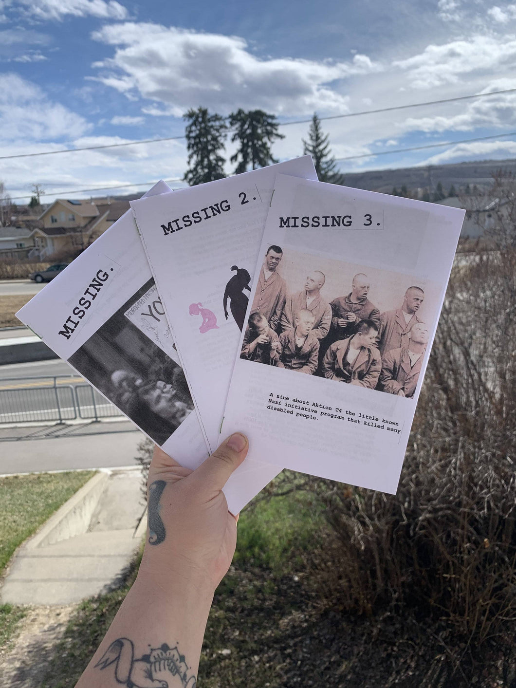 MISSING zine series bundle! Issues 1-3.