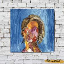Load image into Gallery viewer, Girl Next Door - Acrylic Painting - Art Home Decor