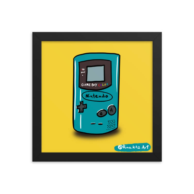 GameBoy Colour - Art Print