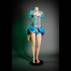 Lustful Levitation Brocade Corset