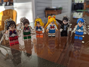 Figure Keychains - Inspired by Sailor Moon