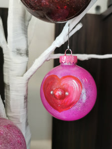 Whimsical Novelty Valentine's Boob Ornament