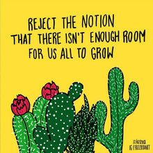 Load image into Gallery viewer, Grow Together Cactus Art Print