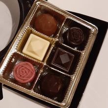 Load image into Gallery viewer, Pure Chocolate Bonbon Set Samplers (4pc & 6pc)