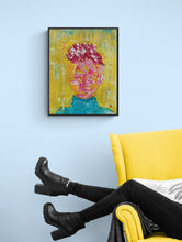 "Load image into Gallery viewer, ""My Imprisoned Thoughts""  - Original Acrylic Painting"