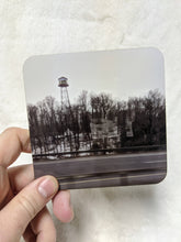 Load image into Gallery viewer, Toronto to Barrie to Orillia Bus Ride Local Coaster Set - 400 Highway, Farm House, Water Tower, Station (mini zine included)