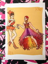 Load image into Gallery viewer, Yvie Oddly & Plastique Tiara Farm to Runway 5x7 Print