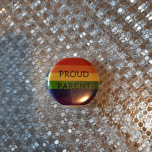 "PROUD PARENT Button - 1.25"" pinback button"