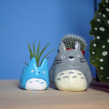 Load image into Gallery viewer, Blue Totoro Mini Planter