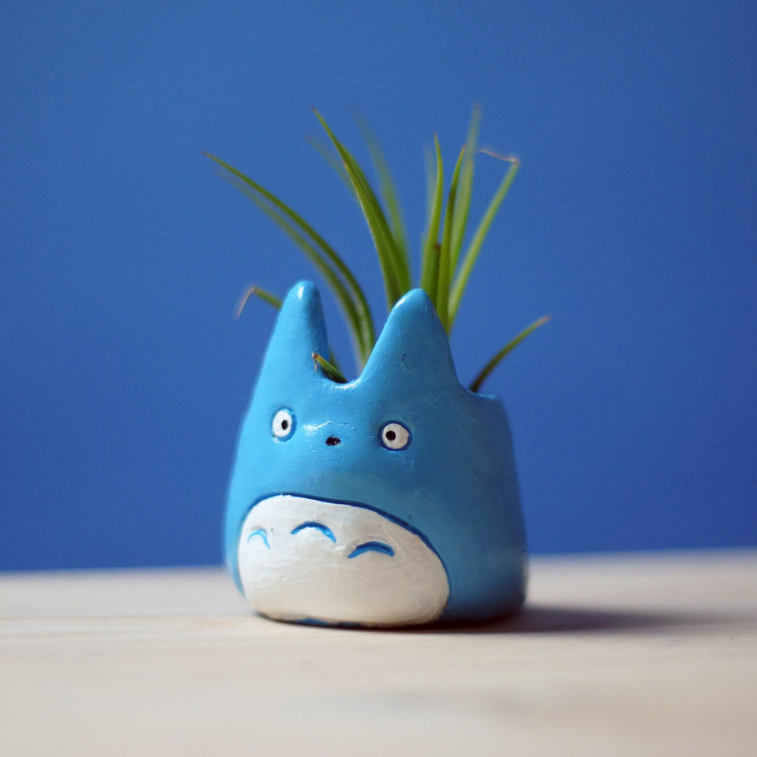 Blue Totoro Mini Planter