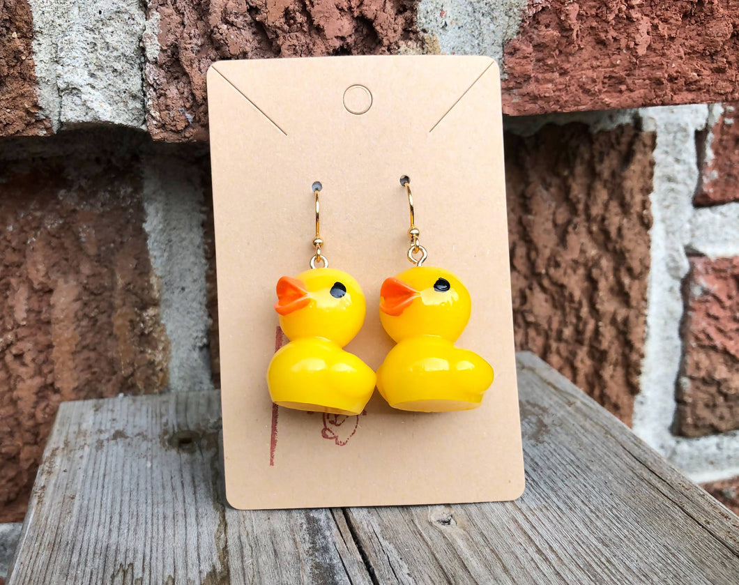 Large Duck - Earrings
