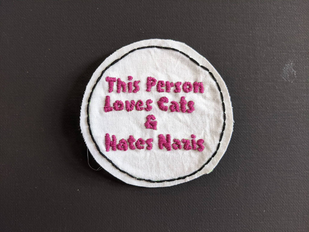 This Person Loves Cats and Hates Nazis