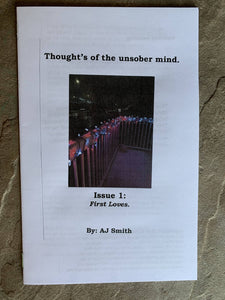 Thought's of the sober mind zine series bundle! Issues 1-3.