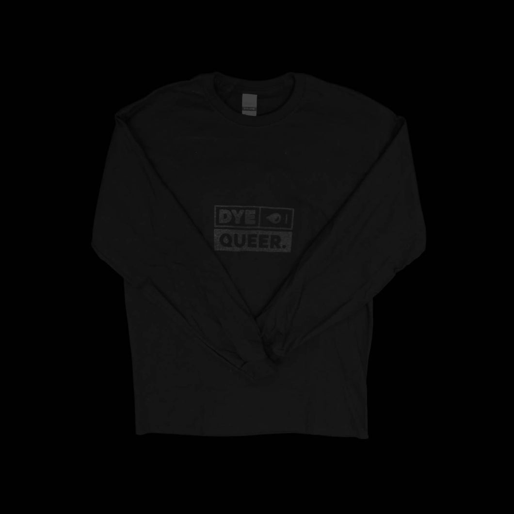 Black Dye Queer Long Sleeve