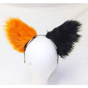 Cat Ears - Black & Oange