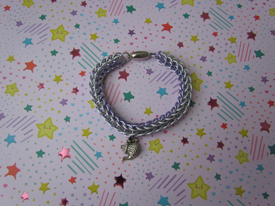 6in1 Persian Bracelet - Lavender/White