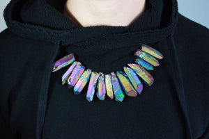 416CHAMPION Crystal Necklace - Rainbow