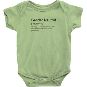 Gender Neutral Bodysuit
