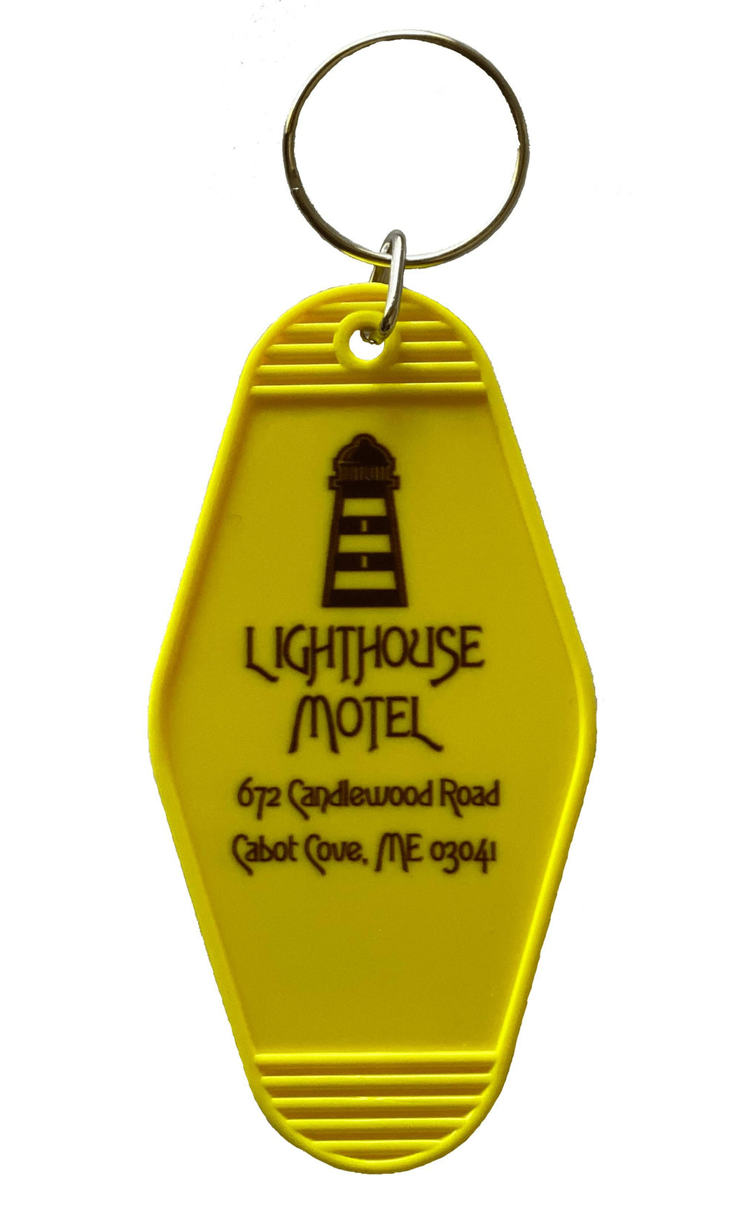 Cabot Cove Lighthouse Motel Key Tag