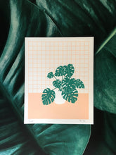 Load image into Gallery viewer, Monstera Screenprint