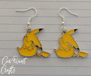 Pokemon Inspired Earrings