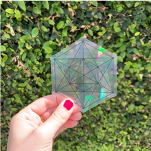 Load image into Gallery viewer, Sacred Geometry Suncatcher Set | Rainbow Decals