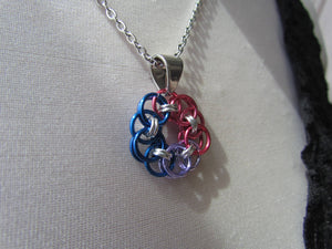 Helm's Circle Pride Pendants - BISEXUAL
