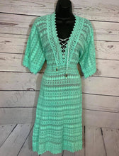 Load image into Gallery viewer, Crochet Cover Up - Cotton