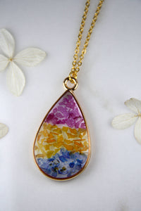 Pan Pride Teardrop Necklace