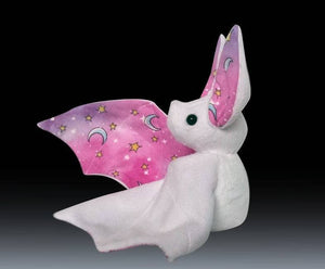 Handmade Pink Starry Galaxy Bat Doll - Multiple Colour Options - Made To Order