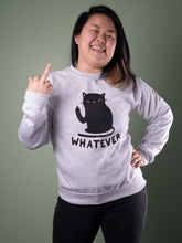 Load image into Gallery viewer, Whatever Cat Sweater