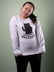 Whatever Cat Sweater
