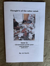 Load image into Gallery viewer, Thought's of the sober mind zine series bundle! Issues 1-3.